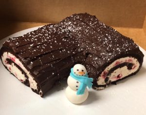 Winter cake at the Clock Tower Bakery